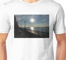 Brilliant Sunny Walk on the Esplanade - Hudson River, Manhattan, New York City, USA Unisex T-Shirt
