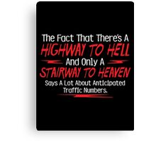 hell heaven Canvas Print
