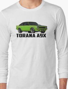 Holden Torana - A9X Hatchback - Green Long Sleeve T-Shirt