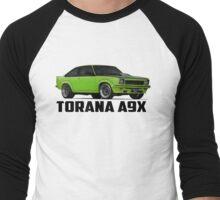 Holden Torana - A9X Hatchback - Green Men's Baseball ¾ T-Shirt