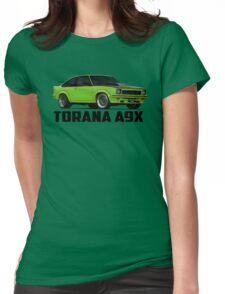Holden Torana - A9X Hatchback - Green Womens Fitted T-Shirt