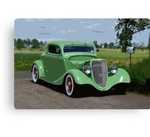 I'VE GOT A HOT ROD. Canvas Print