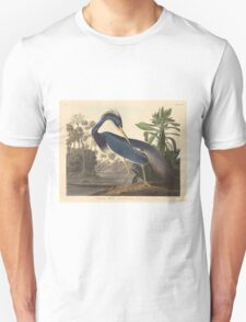 John James Audubon - Louisiana Heron 1834 Unisex T-Shirt