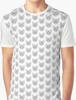 Cat Crazy Graphic T-Shirt