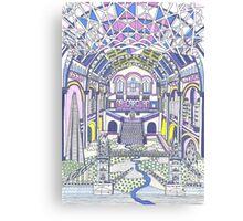 London Composition 1 Canvas Print