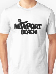 Newport Beach Surfing Unisex T-Shirt