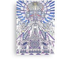 London Composition 2 Canvas Print