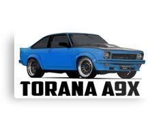 Holden Torana - A9X Hatchback - Blue Metal Print