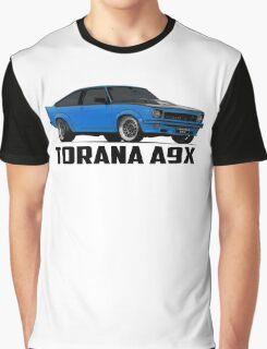 Holden Torana - A9X Hatchback - Blue Graphic T-Shirt