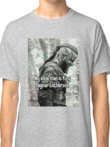vikings king ragnar lodbrok Classic T-Shirt