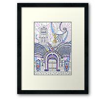 London Composition 3 Framed Print