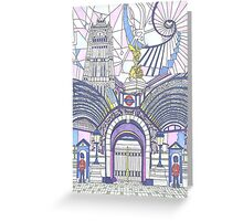London Composition 3 Greeting Card