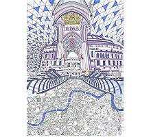 London Composition 4 Photographic Print