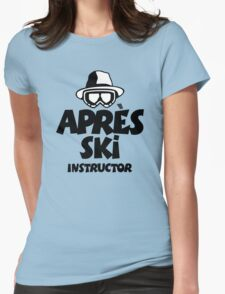 Après-Ski Instructor 01 Womens Fitted T-Shirt