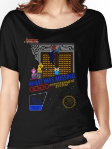 NINTENDO: NES ADVENTURE TIME  Women's Relaxed Fit T-Shirt