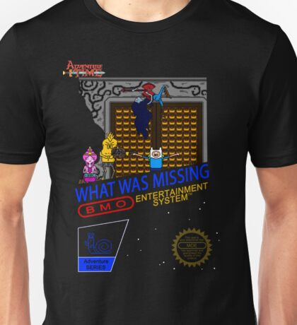 NINTENDO: NES ADVENTURE TIME  Unisex T-Shirt