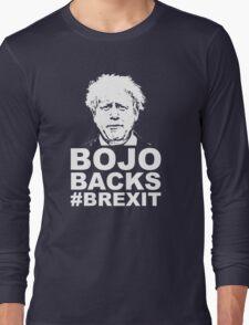 Bo Jo backs brexit ukip Long Sleeve T-Shirt