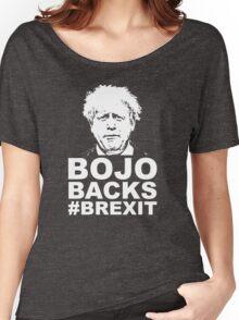 Bo Jo backs brexit ukip Women's Relaxed Fit T-Shirt