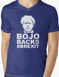 Bo Jo backs brexit ukip Mens V-Neck T-Shirt