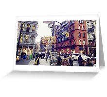 SOHO NYC Greeting Card