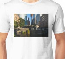 Sunny Oasis - a Peaceful Green Spot in the Heart of Manhattan, New York City, USA Unisex T-Shirt