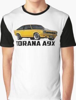 Holden Torana - A9X Hatchback - Yellow Graphic T-Shirt
