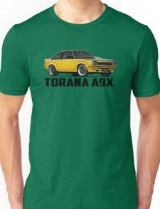 Holden Torana - A9X Hatchback - Yellow Unisex T-Shirt
