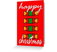 HAPPY CHRISTMAS 20 Greeting Card