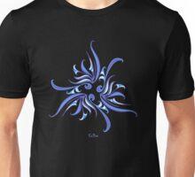 Blue Twirly Unisex T-Shirt