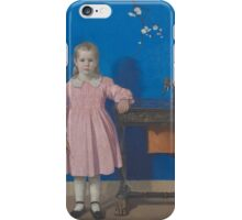 Joseph T. Pearson  - The Twins  1917 . Sisters iPhone Case/Skin