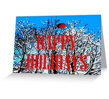 HAPPY HOLIDAYS 1 Greeting Card