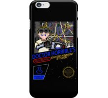 NINTENDO: NES DOCTOR HORRIBLE  iPhone Case/Skin