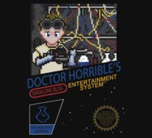 NINTENDO: NES DOCTOR HORRIBLE  Baby Tee