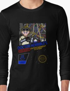 NINTENDO: NES DOCTOR HORRIBLE  Long Sleeve T-Shirt
