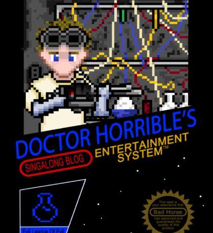NINTENDO: NES DOCTOR HORRIBLE  Sticker