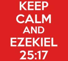 Keep Calm and Ezekiel 25:17 One Piece - Short Sleeve