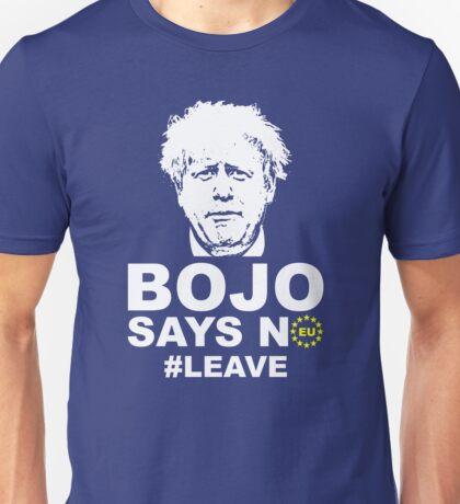 Bo Jo says no ukip Unisex T-Shirt