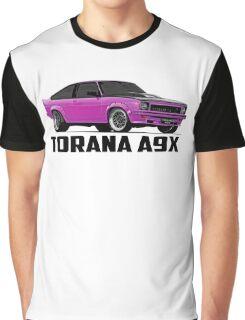 Holden Torana - A9X Hatchback - Pink Graphic T-Shirt