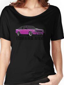 Holden Torana - A9X Hatchback - Pink Women's Relaxed Fit T-Shirt