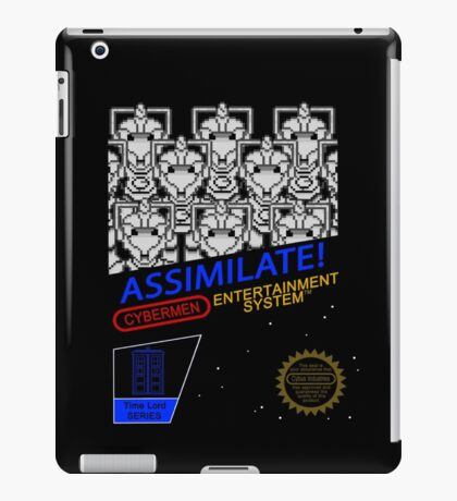 NINTENDO: NES ASSIMILATE! iPad Case/Skin