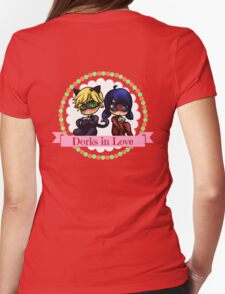 Dorks in Love Womens Fitted T-Shirt