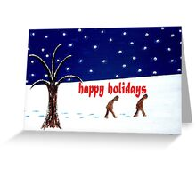 HAPPY HOLIDAYS 5 Greeting Card