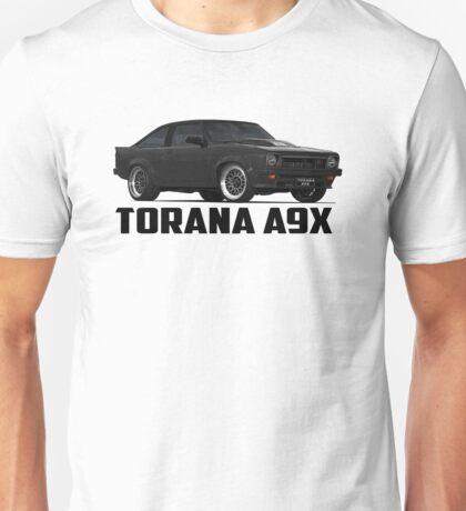 Holden Torana - A9X Hatchback - Black Unisex T-Shirt