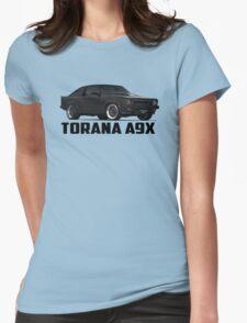 Holden Torana - A9X Hatchback - Black Womens Fitted T-Shirt