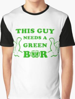 This Guy needs a green beer art for saint patricks day Graphic T-Shirt
