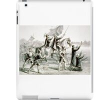 Discovery of the Mississippi - 1876 - Currier & Ives iPad Case/Skin
