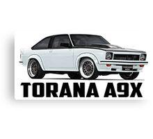 Holden Torana - A9X Hatchback - White Canvas Print