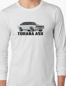 Holden Torana - A9X Hatchback - White Long Sleeve T-Shirt
