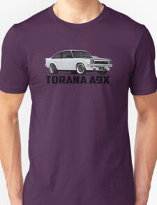 Holden Torana - A9X Hatchback - White Unisex T-Shirt