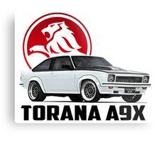Holden Torana - A9X Hatchback - White 2 Metal Print